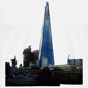 shard and hms belfast T-Shirts - Men's Premium T-Shirt