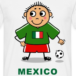 Voetballer - Mexico T-shirts - Mannen T-shirt