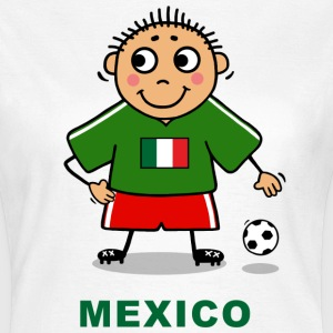Voetballer - Mexico T-shirts - Vrouwen T-shirt