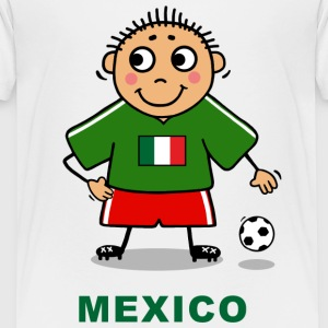 Voetballer - Mexico Shirts - Teenager Premium T-shirt