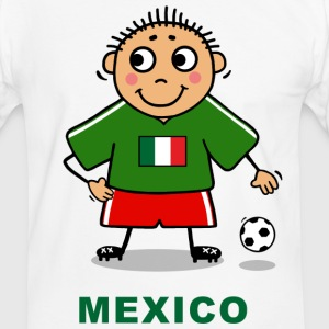 Voetballer - Mexico T-shirts - Mannen contrastshirt