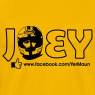 Design ~ The Official Joey Dunlop Facebook T-Shirt - Mens