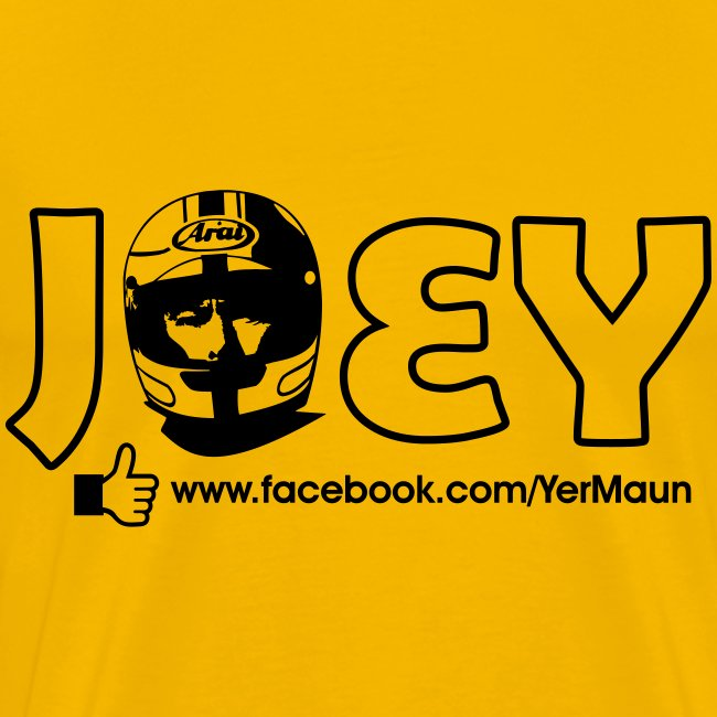 The Official Joey Dunlop Facebook T-Shirt - Mens