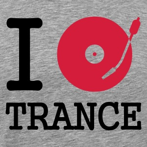 i dj play listen to trance - Men's Premium T-Shirt