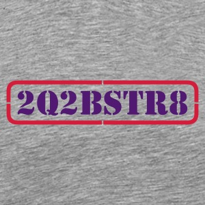 too cute to be straight - 2 colors - Premium T-skjorte for menn