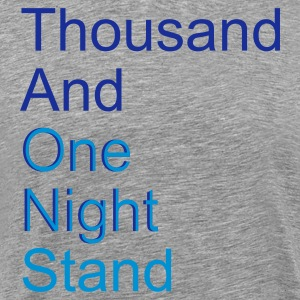 thousand and one night stand 2c - Premium-T-shirt herr