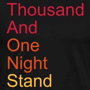 thousand and one night stand  3c - Premium-T-shirt herr