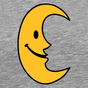 smiley moon - Men's Premium T-Shirt