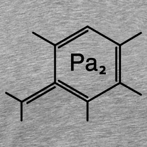 chemical papa - Premium-T-shirt herr
