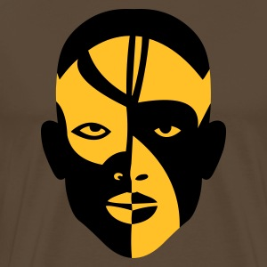 nuba africa face - Men's Premium T-Shirt