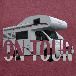 on Tour T-Shirts - Women's T-shirt with rolled up sleeves