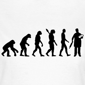 Evolution Bäcker T-Shirts - Frauen T-Shirt