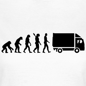 Evolution LKW T-Shirts - Frauen T-Shirt