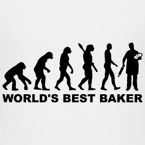 World's best baker T-Shirts - Kinder Premium T-Shirt