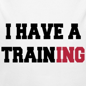 I have a training Sweats - Body bébé bio manches longues
