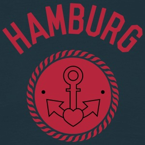 hamburg, harbour, gay, sailing, love, sea T-Shirts - Men's T-Shirt