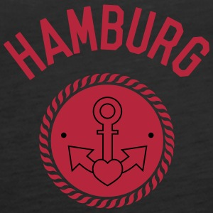 hamburg, harbour, gay, sailing, love, sea Tops - Women's Premium Tank Top