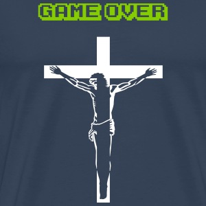Game Over - Jesus T-Shirts - Männer Premium T-Shirt