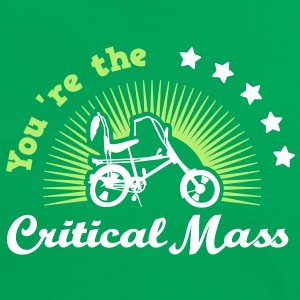 Critical Mass - Frauen Kontrast-T-Shirt