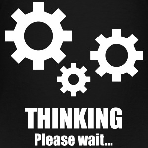 Thinking... please wait Shirts - Kinderen Premium T-shirt