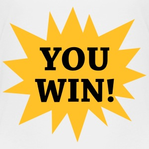 You win ! Camisetas - Camiseta premium adolescente