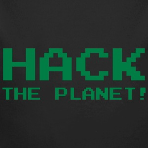 Hack the Planet ! Sudaderas - Body orgánico de manga larga para bebé