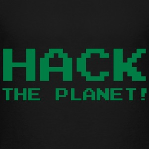 Hack the Planet ! T-shirts - Teenager premium T-shirt