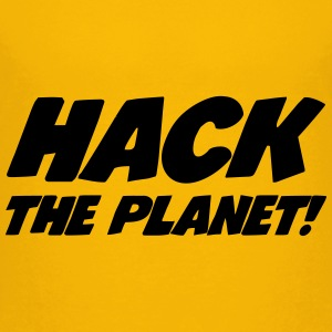 Hack the Planet ! Skjorter - Premium T-skjorte for tenåringer