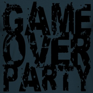 Game Over Party Abdruck Design T-shirts - Herre-T-shirt