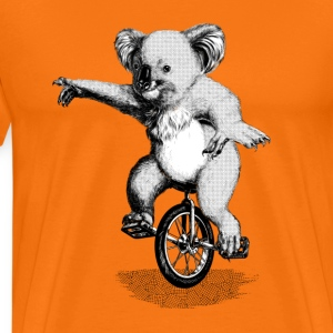 Koala Unicycle T-Shirts - Men's Premium T-Shirt