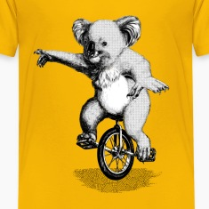 Koala Unicycle Shirts