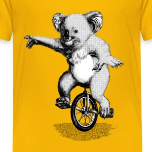 Koala Unicycle Shirts - Kids' Premium T-Shirt