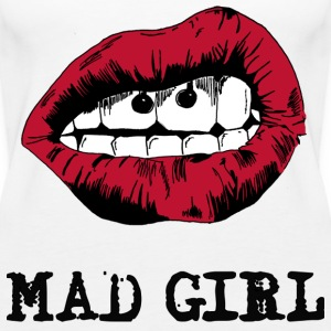 mad girl 2 Tops - Women's Premium Tank Top