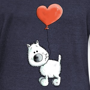 West Highland White Terrier - Chien Sweat-shirts - Pull Femme col bateau de Bella