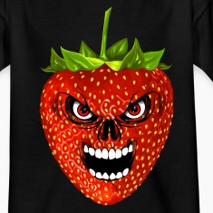 strawberry - fraise - skull Shirts