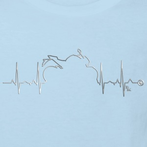 heart bike 1 by DK Tee shirts - T-shirt Bio Enfant