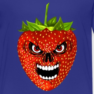 strawberry - fraise - skull Tee shirts - T-shirt Premium Enfant