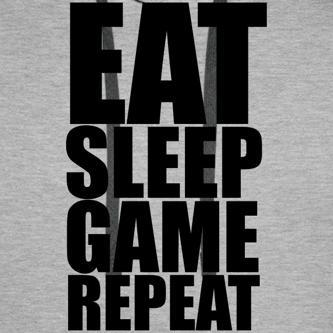 Eat Sleep Game Repeat - Men's Hoodie