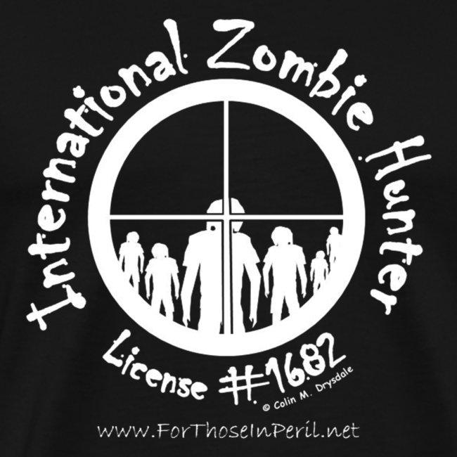 Men's T Shirt - International Zombie Hunter