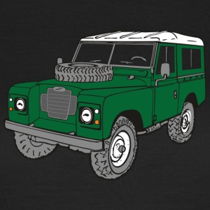 Land Rover Landie 4x4 Off-Road Series 3 88 T-shirts - Vrouwen T-shirt