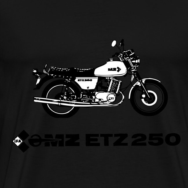 ETZ 250 back