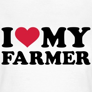 I love my farmer T-Shirts - Frauen T-Shirt