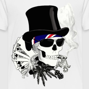 skull T-shirts - Teenager premium T-shirt