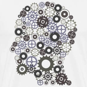 Brain Cogs - Men's Premium T-Shirt
