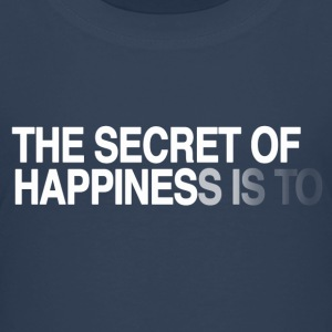 The secret of happiness is Tee shirts - T-shirt Premium Enfant
