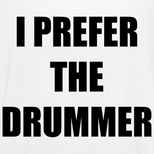 I prefer the drummer Tops - Women's Tank Top by Bella
