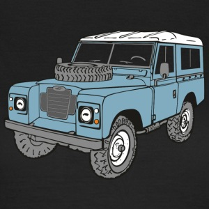 Land Rover Landie 4x4 Off Road Series 3 88 Tee shirts - T-shirt Femme