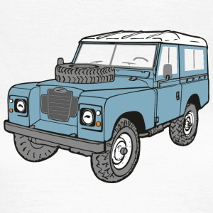 Land Rover Landie 4x4 Off Road Series 3 88 T-shirts - Vrouwen T-shirt