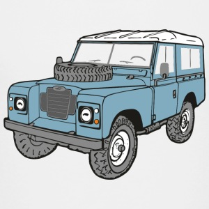 Land Rover Landie 4x4 Off Road Series 3 88 Shirts - Kinderen Premium T-shirt