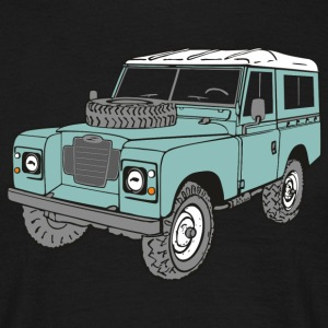 Land Rover 4 x 4 Land Rover Serie3 88 Tee shirts - T-shirt Homme